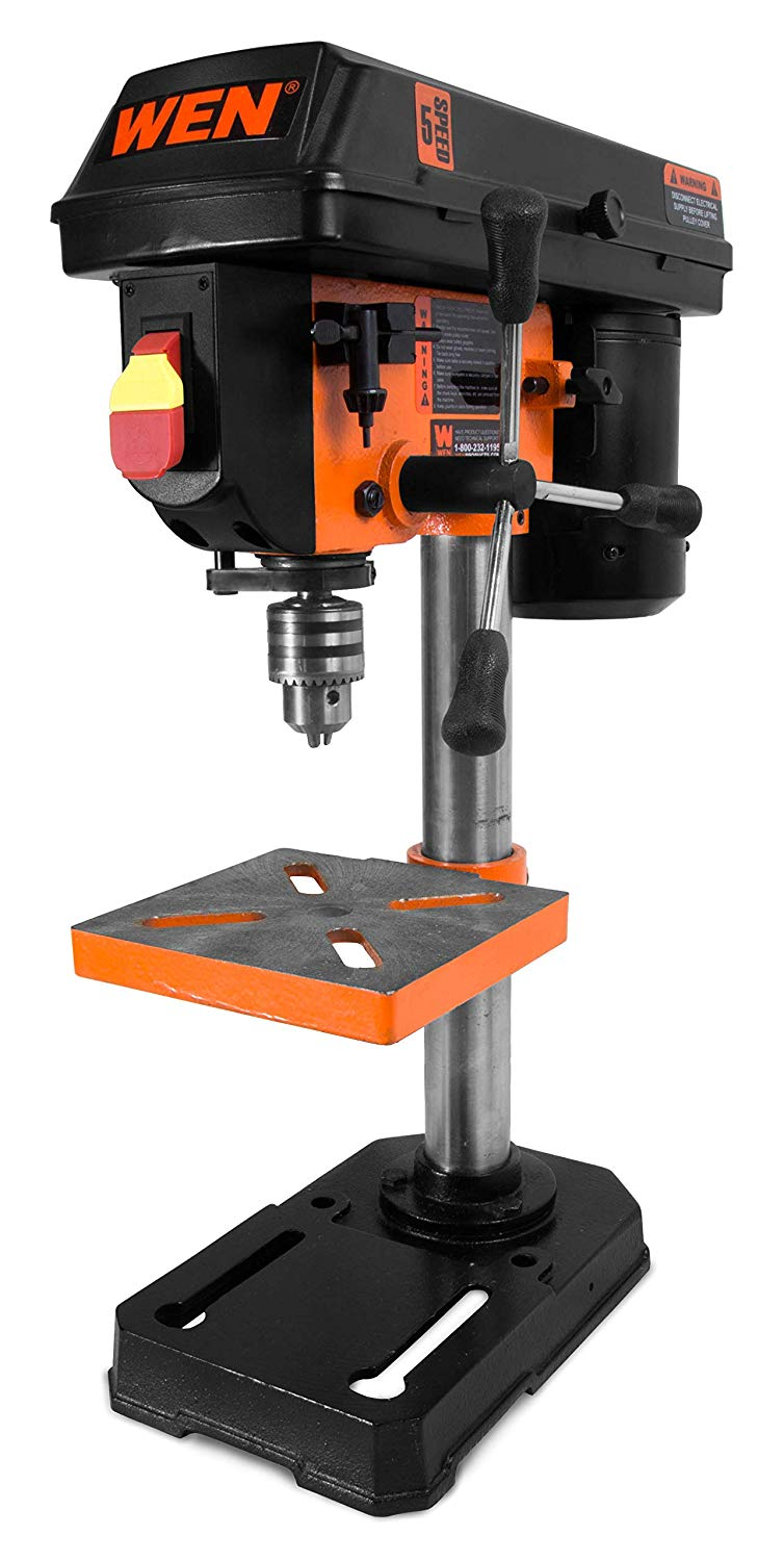 Benchtop drill press style