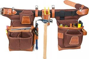 Best Leather Carpenters Tool Belt With Suspenders (2021 Reviews)