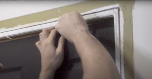 loosening door