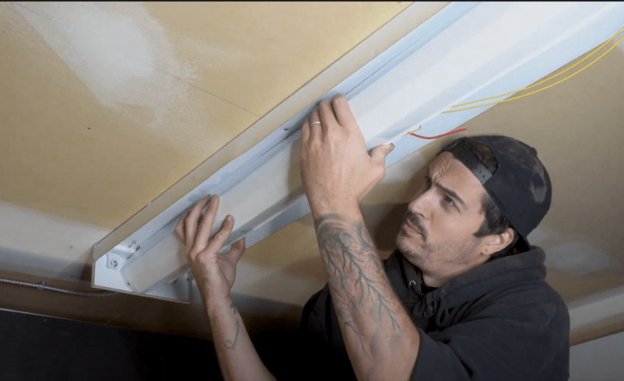Replacing electrical wire cover