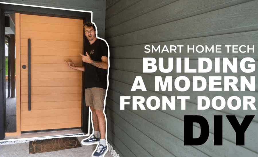 How To Build A Modern Exterior Entryway Door