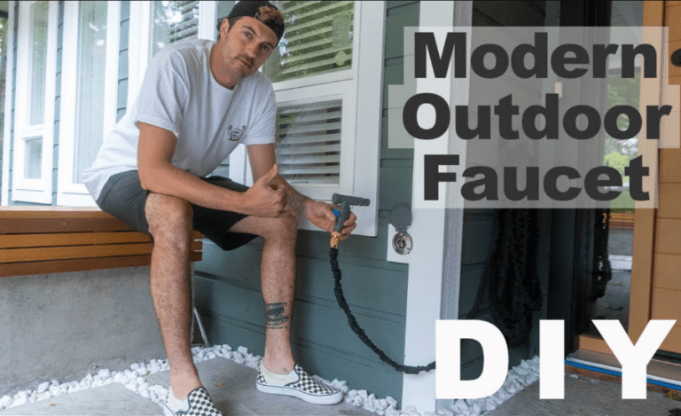 Replacing A Dripping Hose Bib With a Modern Outdoor Faucet