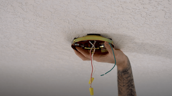 installing the ceiling mount