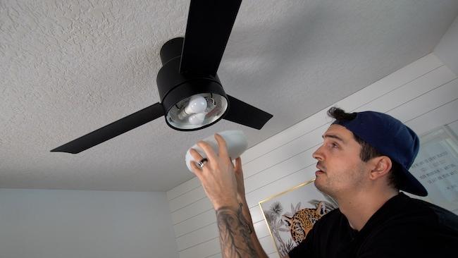 installing a new fan