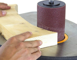How to Use an Oscillating Spindle Sander