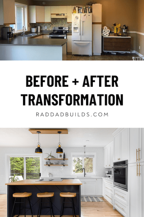 Before and after home tour design ideas
