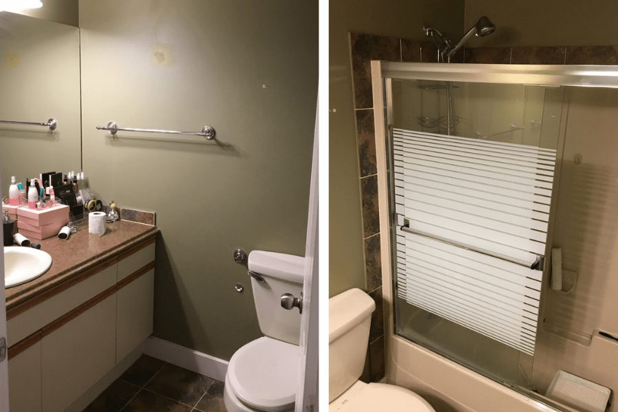 bathroom renovation ideas home tour before and after 1