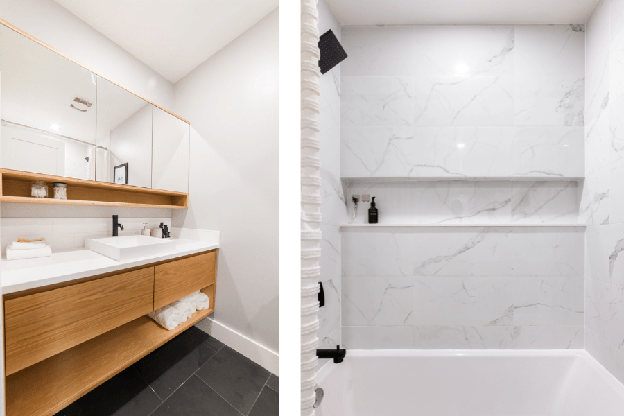bathroom renovation ideas home tour before and after