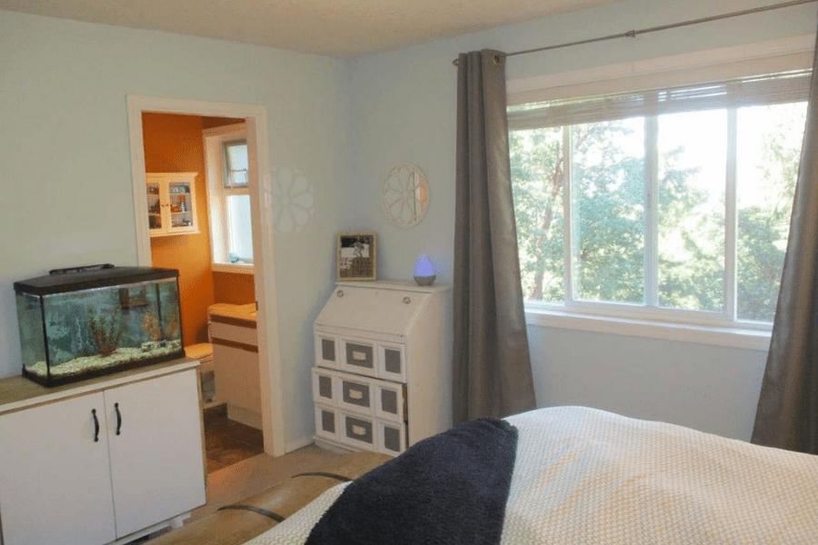 bedroom renovation before 2