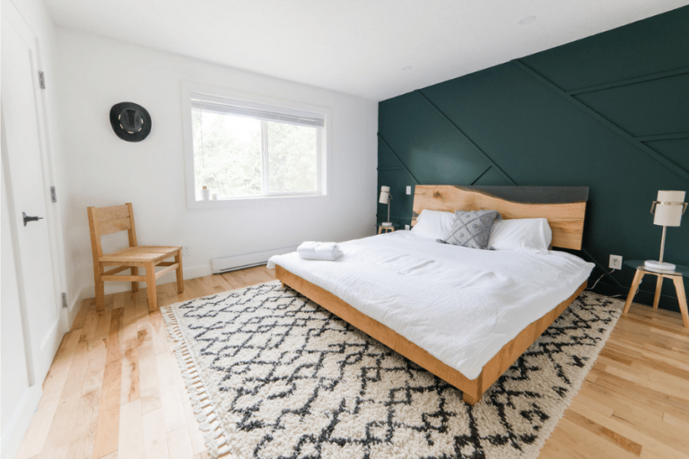 bedroom renovation before and after