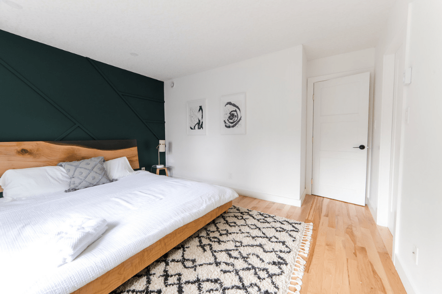 bedroom renovation before and after home tour