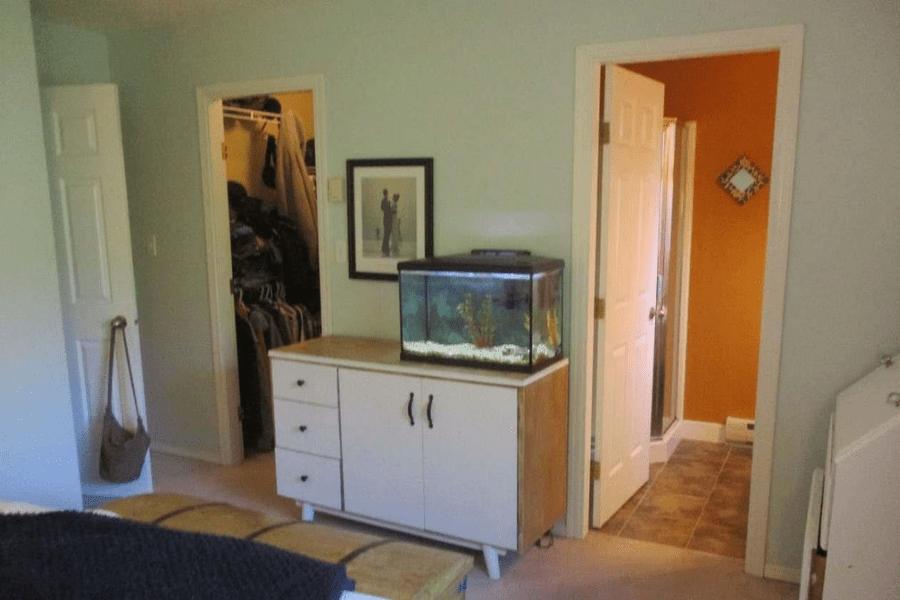 bedroom renovation before