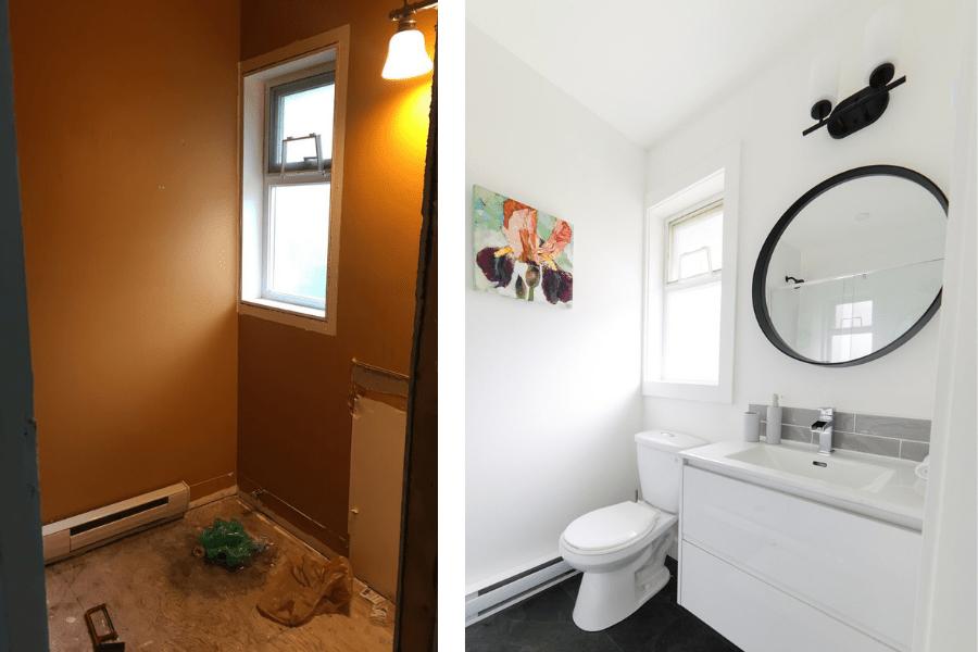 home our bathroom renovation