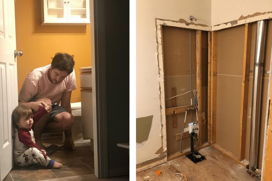 home tour bathroom renovation modern flip