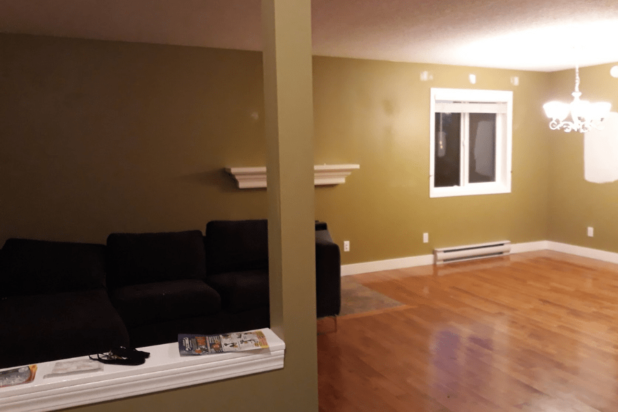 home tour renovation before after 3